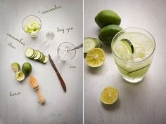 Make These Tonight:  Cucumber Gimlets