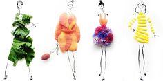 #ChicEats: Gretchen Roehrs Reinterprets Givenchy, Sonia Rykiel with Food  - HarpersBAZAAR.com