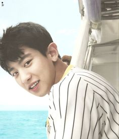 SCAN #Chanyeol #EXO Dear Happiness #Photobook