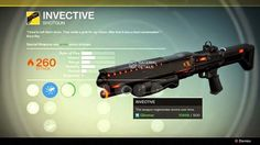 Destiny - A Dubious Task - Exotic Bounty Walkthrough - How to get the exotic Shotgun Invective - Sci Fi Weapons, Fantasy Weapons, Sci Fi Fantasy, Destiny Bungie, Ready Player One Characters, Love Destiny, Destiny Video Game, Cosplay Sword, Firearms