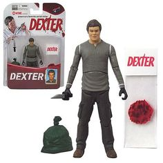 Dexter Figure - Bif Bang Pow! presents a truly awesome 3 3/4-inch Dexter Action Figure based on Showtime's hit series�Dexter.�This fan-demanded figure is crafted of PVC plastic and features 10 points of articulation. You'll want this good guy / bad guy in your toy box or�Dexter�collection! Limited edition of 7,000 pieces.