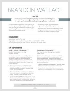 Attractive Resume Template | Urban Shadow Grey U2013 Loft Resumes