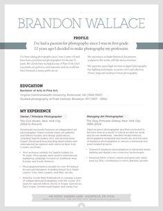 Resume Template | Urban Shadow Grey – Loft Resumes