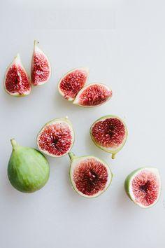 Fig and Melon Salad with Creamy Lemon Vinaigrette // Not Without Salt