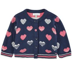 Viscose and cotton knit Crew neck Long sleeves Buttons on the front Fancy print on the front Small logo patch on the heels - 39,00 €