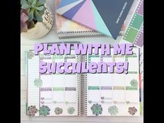 Sweet Kawaii Design - Plan with me - Succulents