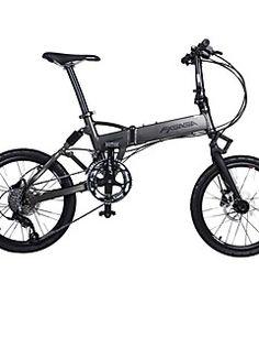 fxsaga 20 pulgadas bicicleta de aleación de aluminio plegable a prueba de golpes 18 velocidades ciudad y tour en bicicleta de montaña