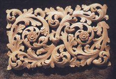 Treskjæring. Woodcarving, Norway