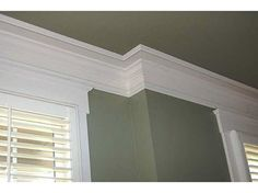 Crown Molding · Molding IdeasCrown MoldingsGuest RoomsLiving ...