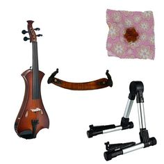 Meisel Electric Violin Pack Sunburst w/Silver Stand, Tuner & Daisy Rosin Meisel Violins http://www.amazon.com/dp/B00VH5L7DQ/ref=cm_sw_r_pi_dp_8kRpvb07EH151
