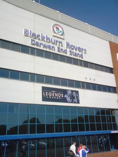Blackburn Rovers Darwen End Stand