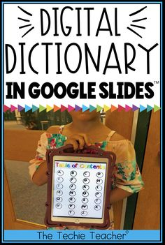 Students can use this digital dictionary in Google Slides to keep track of their vocabulary words or sight words. Each letter of the alphabet is pre-hyperlinked to the table of contents page. The alphabet pages have space for students to type their words, their definitions and even add images or videos to help with comprehension. Use independently or collaboratively! Works on Chromebooks, laptops/computers and iPads.