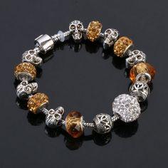 DIY Bracelets & Bangles Skull Charm
