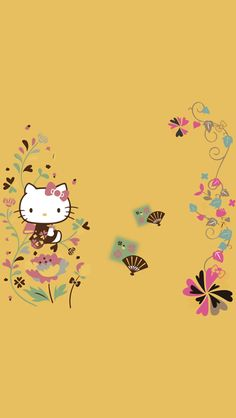 Hello Kitty Backgrounds, Hello Kitty Wallpaper, Hello Kitty Items, Sanrio Hello Kitty, Funny Short Videos, My Melody, Wallpaper Backgrounds, Snoopy, Beer