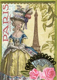 Souvenir de Paris ATC 1 by wendyofva, via Flickr
