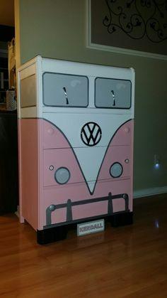 VW bus dresser