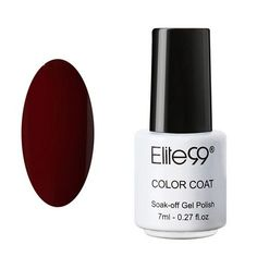 Elite99 7ml UV Nail Gel Polish Long Lasting UV LED Nail Polish Lacquer Need UV Gel Base And Top Coat Choose 1 Bottle Gelpolish