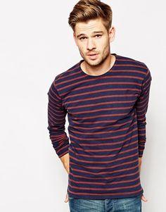 Enlarge Selected Stripe Long Sleeve Top