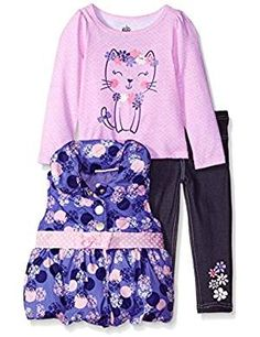 online shopping for Kids Headquarters Baby Girls' 3 Pieces Puffer Vest Set -Bow At Waist from top store. See new offer for Kids Headquarters Baby Girls' 3 Pieces Puffer Vest Set -Bow At Waist Girls Dress Up, Girls Pants, Kids Headquarters, Toddler Girl, Baby Girls, Girls Fleece, Applique Dress, Puffer Vest, Clothing Sets
