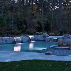 Fiberoptics - traditional - pool - new york - Gibbons Pools Inc.
