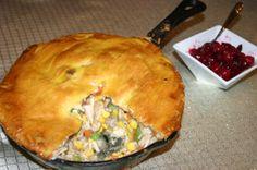 Smoked Turkey Pot Pie