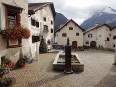 Scoul, Unterengadin, Bündnerland, Schweiz