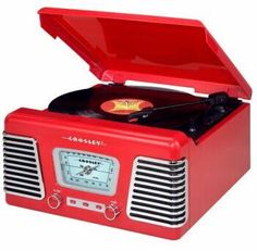 -  Vintage Record Player  -