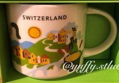 Switzerland | YOU ARE HERE SERIES | Starbucks City Mugs