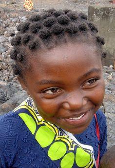 little congolese girl