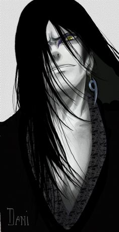 Orochimaru fan art. (Naruto) How can he look so hot and evil at the same time.