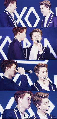 Chanhun! Love them #chanyeol #sehun