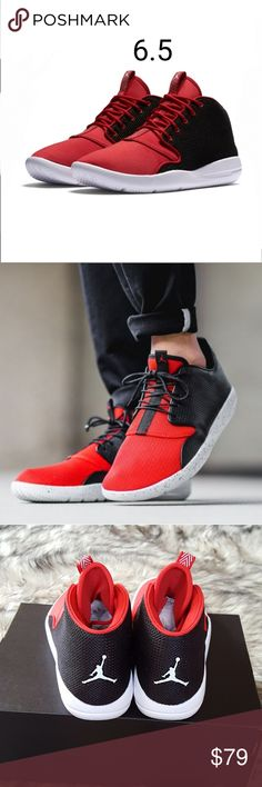 WOMENS SIZE 6.5 (5Y) A minimalist look with subtle detailing makes the  Jordan Eclipse Chukka a perfect addition to Jordan Brand's rich legacy.