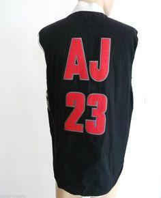 88ef3682c NBA Nike Air Jordan jacket 23 Jumpman Vintage 1990s VGC Size M Medium Rare