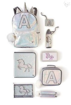 Unicorn in the heart. Sparkling backpacks and accessories as magical as your girl. Source by justice Justice School Supplies, Cute School Supplies, Cute Unicorn, Rainbow Unicorn, Magical Unicorn, Unicorn Birthday, Unicorn Party, Justice Backpacks, Justice Accessories