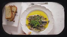 Öppen ravioli, sardiner och mascarponekräm - Recept - Pluras kök - TV3