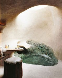 This could take my New Mexico dream bath to a whole new level! Much larger though. Amazing!