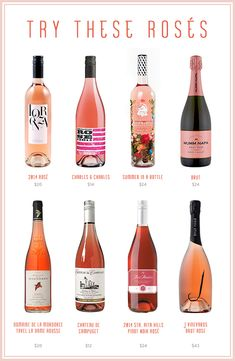 Rosés to try!