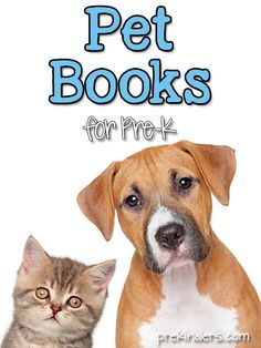 These are our favorite books about Pets for Pre-K kids. This list contains Amazon affiliate links. Visit the Pet Activities page for lots of Preschool & Pre-K lesson ideas.