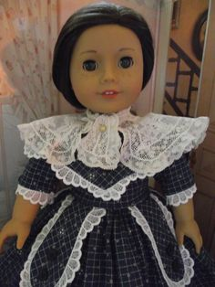 American Girl Antique Lace Historical Shawl by VintiqueDesigns, $29.99