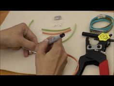 Antelope Beads - Wrapped Double Riveted Cuff Arizona Leather Bracelet Tutorial - YouTube