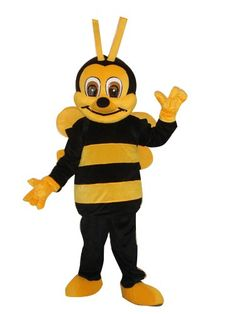 cheap Adult Size Bee Honeybee Mascot Costume