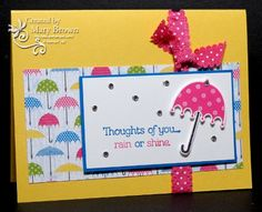 CCMC235 Rain or Shine by stampercamper - Cards and Paper Crafts at Splitcoaststampers