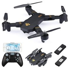 Other Rc Model Vehicles & Kits Learned Drone X Pro 1080p Hd Camera Wifi App Fpv Foldable Wide-angle 4* Batteries Elegant Appearance