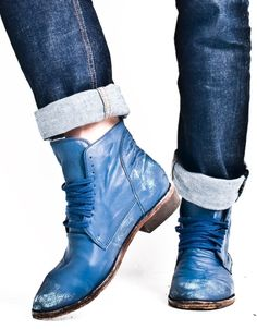 Diesel Black Gold: blue insignia time control onward boot