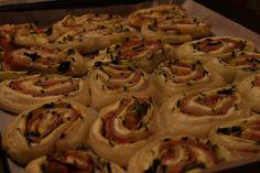 Patchwork Myself: Girelle di pasta sfoglia con philadelphia, zucchin...