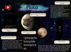 Pluto Multimedia, Astronomy, Planets, Education, Onderwijs, Learning, Astrophysics