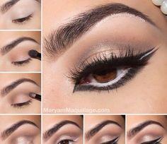 Glam Makeup Tutorial @Luuux #Makeup #Makeup_tutorial #Eye_makeup #Eyeshadow #Cosmetics