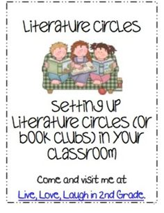 Literature Circles- Setting Up Literature Circles in Your Classroom