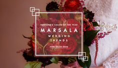 Marsala Wedding Trends Article: Marsala Wedding Ideas Inspired by Pantone's Color of the Year  Photography: Sarah & Ben Read More: http://www.insideweddings.com/news/planning-design/marsala-wedding-ideas-inspired-by-pantones-color-of-the-year/2023/
