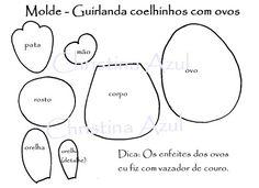 Molde guirlanda EVA (Foto:Divulgação)